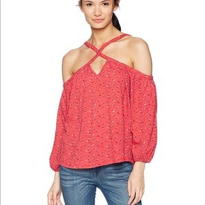 New lucky brand off the shoulder top
